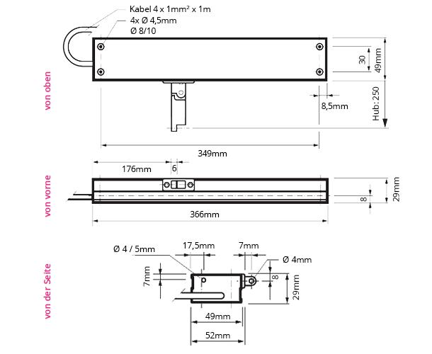 Fensterantrieb Micro S 2700055