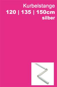 Kurbelstange silber
