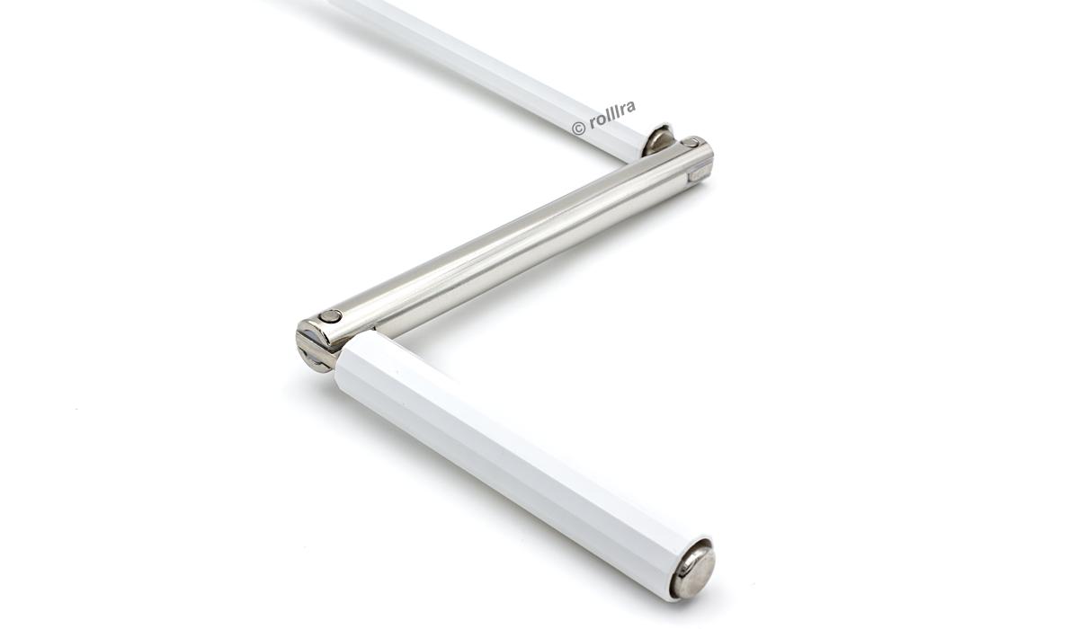 Gelenklagerplatte 52x22mm 45/° mit 4-Kant Stift 6mm