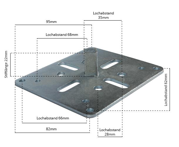 Maße Rollladenmotor