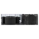 Adapter Rundwelle 85mm