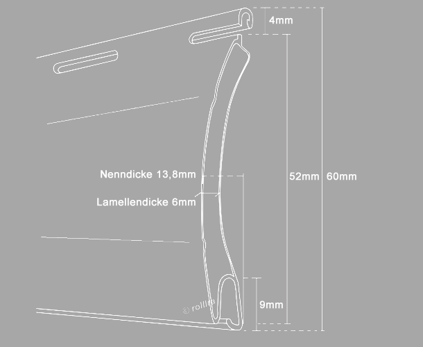 Rollladenpanzer ALU A52C