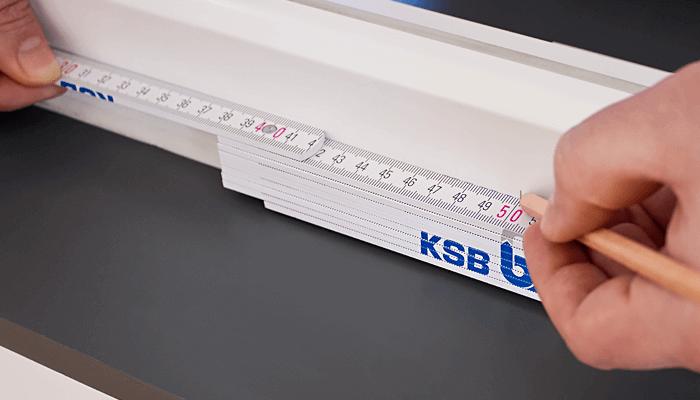 Grafik Rollladenpanzer richtig ausmessen