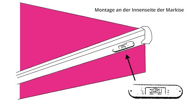Windsensor FUNK für Markise