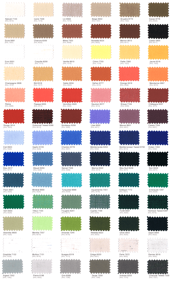Maße WKS Farben