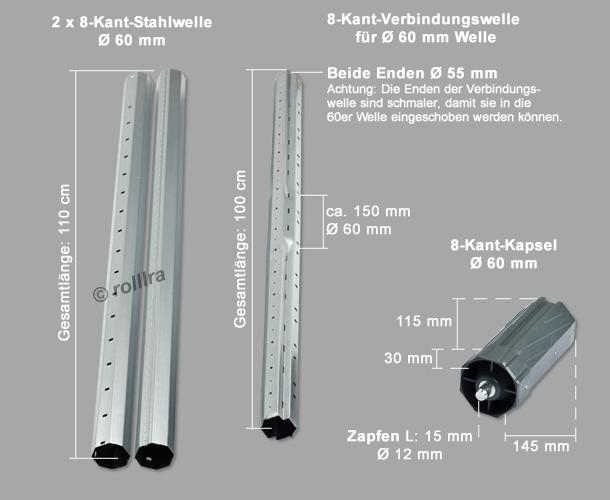 Stahlwellen-SET 2