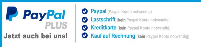 Paypal Plus Hinweis